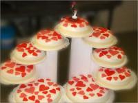Bruidstaarten aardbeien - Bakkerij Akkermans