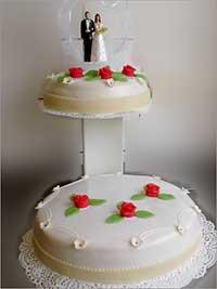 Bruidstaart-rood-roos-S